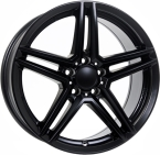 Rial uniwheels m10x Matt Black(273411)