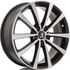 It wheels Alice Gloss Black / Polished(ITV17705108E45ZP63ALI)