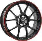 Inter Action I.a. phoenix Gloss Black / Red(ITV15654098E35ZR58IPH)