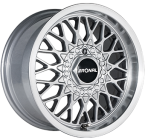 Ronal Ls Silver / Polished(ITV15754100E25SP57LS)