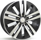 Original equipment Mercedes w222 Gloss Black / Polished(ITV18805112E41ZP66ME222)