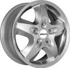 Ronal R44 Crystal Silver(ITV17706130E55CS84R44)