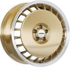 Ronal R50aero Gold / Polish(ITV16754100E38GD68R50A)