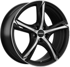 Ronal R62 Dull Black / Polished(ITV20855114E45BP82R62)
