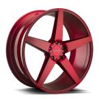 Element 5 Børstet rød(EL0052295115+15BRUSHEDRED)