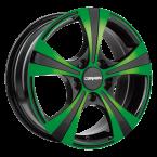 Carmani - neon green polish(CA116516H450CNGP)