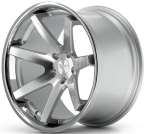 Ferrada FR1 Sølv/poleret/krom kant(FR1201055108MS38)