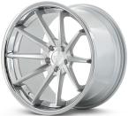Ferrada FR4 Sølv/poleret/krom kant(FR4191055112MS25)