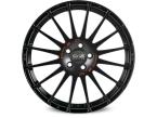 Oz Superturismo GT Black MATT BLACK RED LETTERING(W0168605279)
