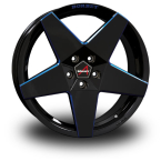 BORBET A Black-Blue BLACK BLUE GLOSSY(A80845.1125665BBG)
