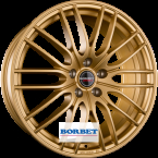 BORBET CW4 Gold GOLD MATT(CW485945.1125GOM)