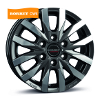BORBET CW6 Antracite polished MISTRAL ANTHRACITE GLOSSY POLISHED(496923)