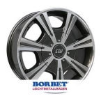 BORBET CH Antracite-Polished Anthracite Polished(495558)