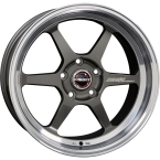BORBET DB8GT GRAPHITE RIM POLISHED(DB8GT85820.1145)