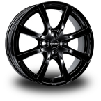 BORBET LV4 Black Black Glossy(LV455424.1084BG)