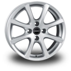 BORBET LV4 Silver CRYSTAL SILVER(LV455435.1004CS)