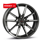 BORBET LX Graphite Polished GRAPHITE SPOKE RIM POLISHED(496649)