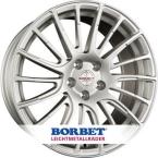 BORBET LS2 BRILLIANT SILVER(LS280735.1105BS)