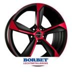 BORBET S BLACK RED Black Red(S85945.1125BMR)