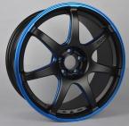 Enkei IZUMO BLUE (SC38) (EN03) MATT BLACK / BLUE ELOX (MBBL)(EN03-851840-D3-73)