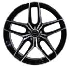 NB Wheels MW02 BKF BLACK / POLISHED (BKF)(MW02-1052135-A1-03)