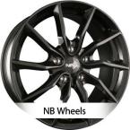 NB Wheels NB1 BLACK (ADV11) BLACK (GB)(ADV11-801750-W3-03)