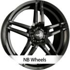 NB Wheels NB3 BLACK (ADV09) GB(ADV09-751745-W1-03)