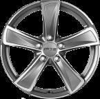 OXXO M KALLISTO DARK (OX05) matt gunmetal/polished (MGMFP)(OX05-751745-D4-84)