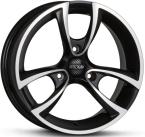 OXXO M TRIAS BLACK (RG18) matt black / polished (MBFP)(RG18-501520-MC-83)