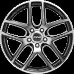 OXXO T VAPOR POLISHED (RG12) black / polished (BKF)(RG12-701745-W3-33)
