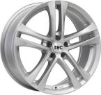 Tec-Speedwheels AS4 Brillant-Silber(AS4651638X5.CS)