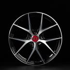 Tec-Speedwheels GT6-EVO Schwarz-Glanz frontpoliert(GT6801845W3.BP)
