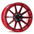 Tec-Speedwheels GT7 Rot-Schwarz-Glanz 2-farbig(GT7851935W3.BLRE)