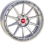 Tec-Speedwheels GT8 Hyper-Silber(GT88519R45W1.HS)