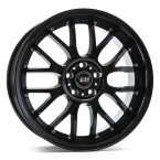 Tec-Speedwheels GT-AR1 Schwarz-Glanz(AR1801735X2.BG)