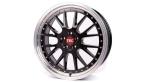 Tec-Speedwheels GT-EVO Schwarz-Glanz hornpoliert(GTEVO801835X2.BPL)
