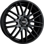 Tec-Speedwheels GT1 Schwarz-Matt(GT11052035W6.BM)