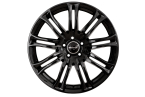 Wheelworld WH23 Black glossy painted(16350)