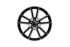 Wheelworld WH30 Black matt full machined(11850)