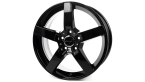 Wheelworld WH31 Black glossy painted(15735)