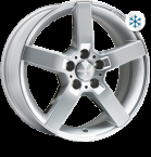 Wheelworld WH31 Race silver painted(13732)