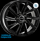 Wheelworld WH32 Black glossy painted(14760)