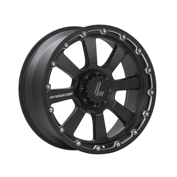 Lenso INTIMIDATOR 8 MATT BLACK/ CHAMPHER EDGE