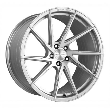 STANCE SF01 RIGHT ROTARY FORGED BRUSH SILVER