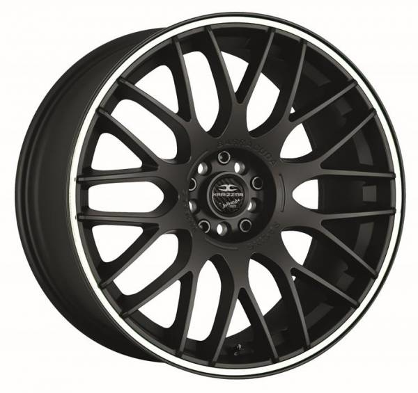 Barracuda Karizzma Mattblack Puresports / Color Trim weiss