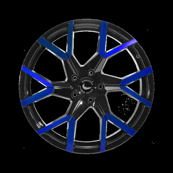 Barracuda Project 3.0 Black gloss Flashblue