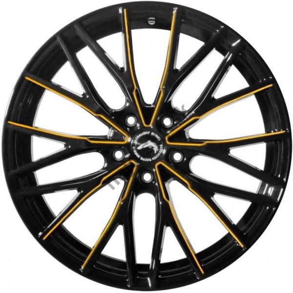 Barracuda Project 3.0 Black gloss Flashgold