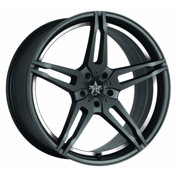 Barracuda Starzz Mattblack Puresports / undercut Color Trim weiss