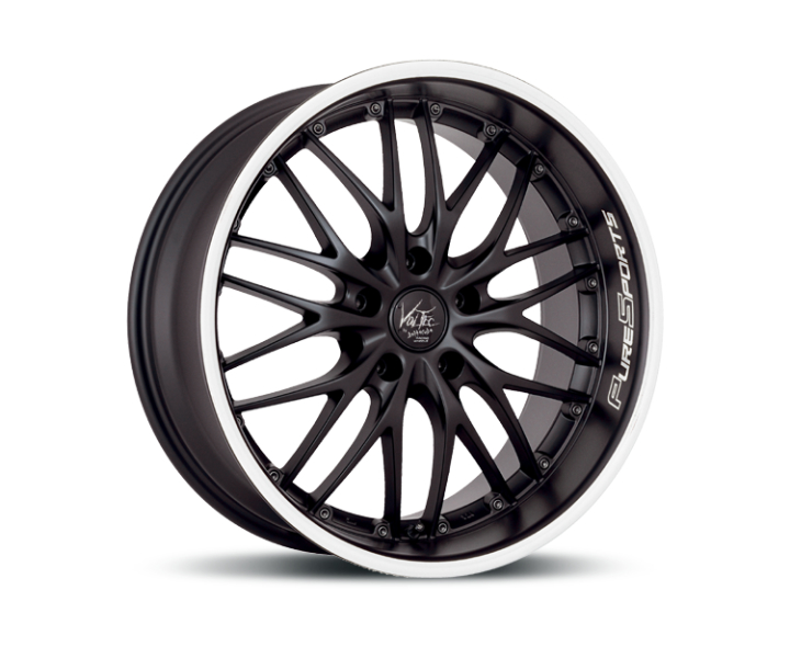 Barracuda Voltec t6 Mattblack Puresports / Color Trim weiss