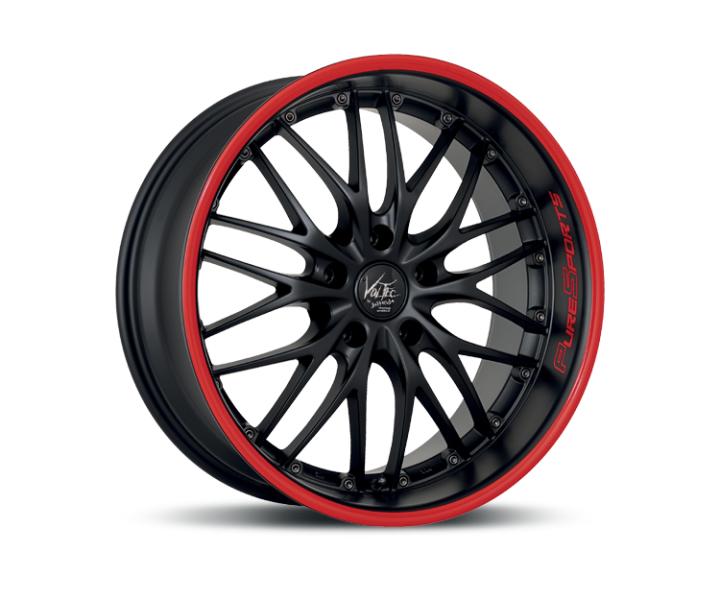Barracuda Voltec t6 suv Mattblack Puresports / Color Trim rot